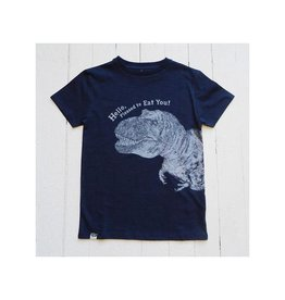 Lion of Leisure T-shirt, indigo, dino (3-16j)