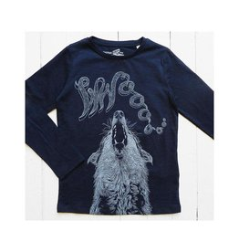 Lion of Leisure Shirt, indigo, wolf (3-16j)