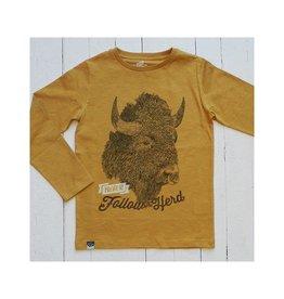 Lion of Leisure Shirt, ochre, buffalo (3-16j)
