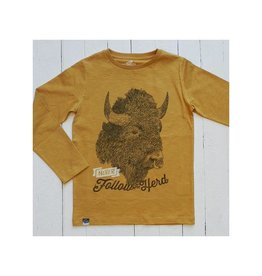 Lion of Leisure Shirt, ochre, buffalo (3-16j)