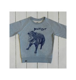 Lion of Leisure Sweater, ice blue melange, tasmanian devil (3-16j)