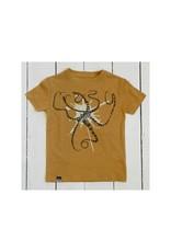 Lion of Leisure Lion of Leisure - T-shirt, ochre, octopus (3-16j)