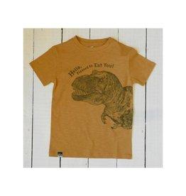 Lion of Leisure T-shirt, ochre, dino (3-16j)