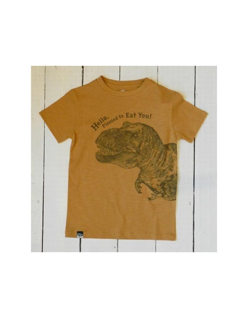 Lion of Leisure Lion of Leisure - T-shirt, ochre, dino (3-16j)