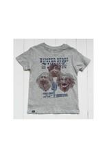 Lion of Leisure Lion of Leisure - T-shirt, grey melange, tamarin monkey (3-16j)