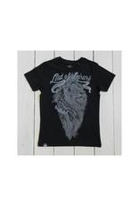 Lion of Leisure Lion of Leisure - T-shirt, charcoal melange, logo lion (3-16j)
