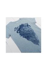 Lion of Leisure Lion of Leisure - T-shirt, ice blue, logo lion (3-16j)