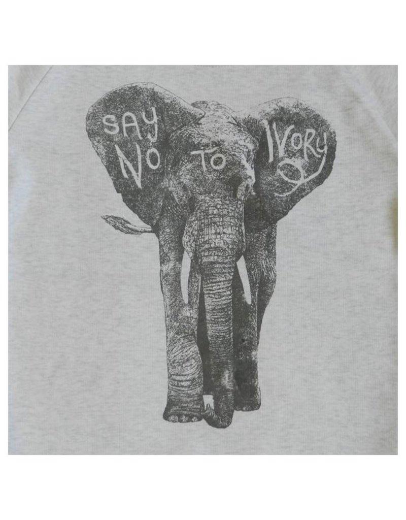 Lion of Leisure Lion of Leisure - sweater, cream melange, elephant (3-16j)