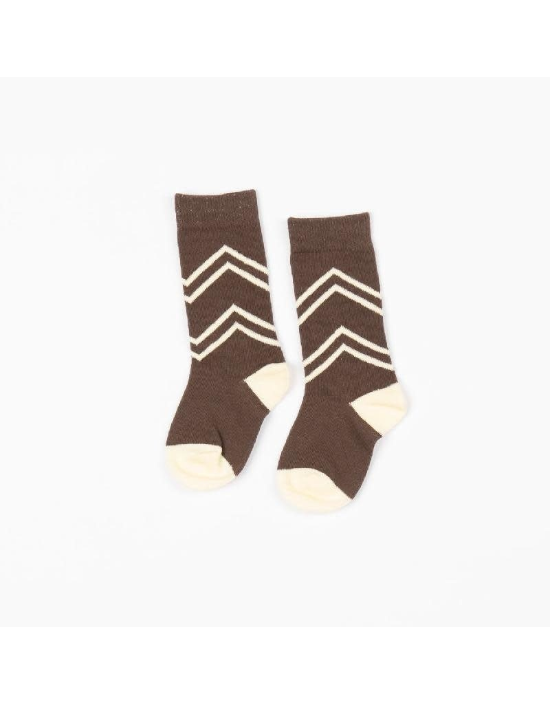 Alba of Denmark Alba of Denmark - Annie knee socks, chocolate (3-16j)