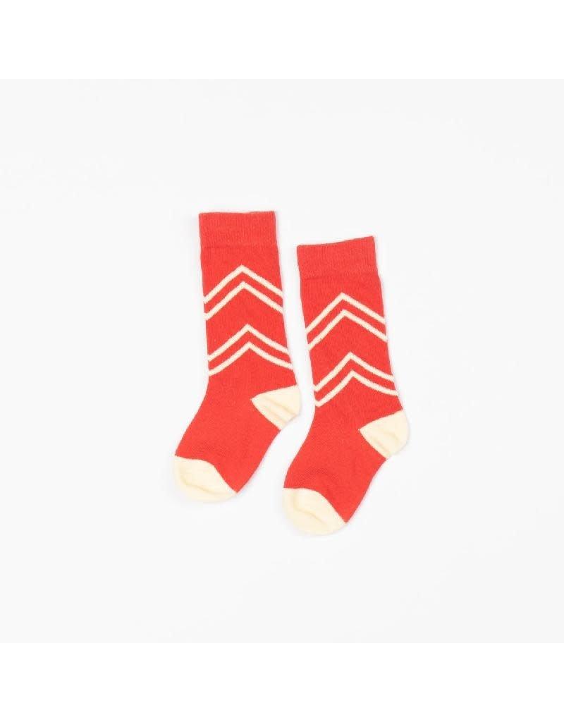 Alba of Denmark Alba of Denmark - Annie knee socks, spicy orange (3-16j)