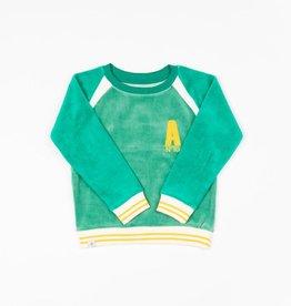 Alba of Denmark Sweater, pepper green (3-16j)