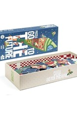 Londji Londji - puzzel, Go to the future, 100 stukken