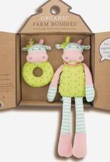 Organic Farm Buddies Organic Farm Buddies - Belle Cow cadeau Set