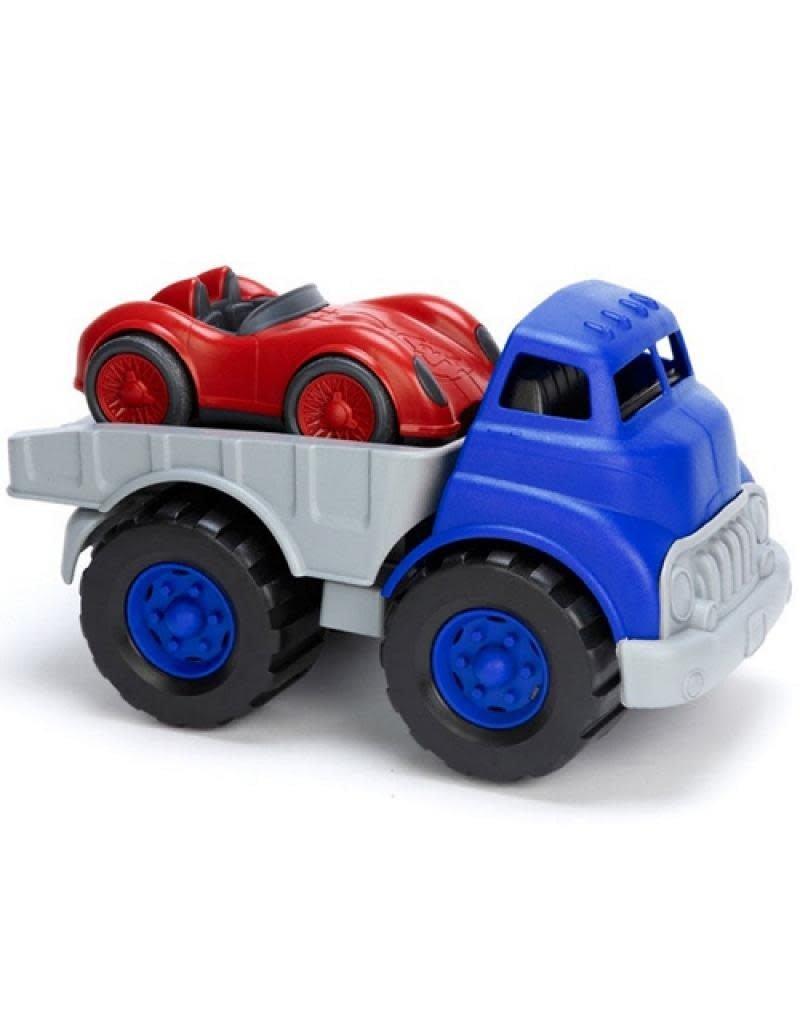 Green Toys Green Toys - truck met racewagen