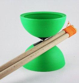 Cirkus Jojo Diabolo spinner, groen