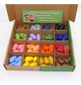 Crayon Rocks Waskrijt box, 16 verschillende kleuren