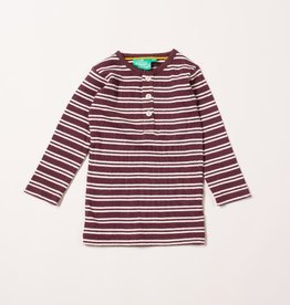 Little Green Radicals Pum stripes forever long sleeve tee (3-16j)
