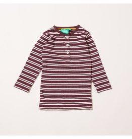 Little Green Radicals Pum stripes forever long sleeve tee (3-16j)