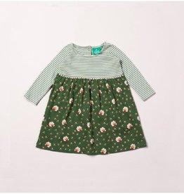 Little Green Radicals Golden sheep easy peasy dress (0-2j)