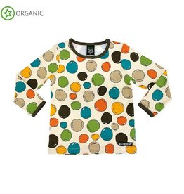Villervalla Shirt, ls, oat, bubbles (3-16j)