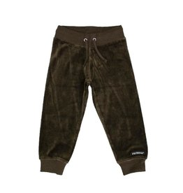 Villervalla Relaxed trousers, coffee (3-16j)