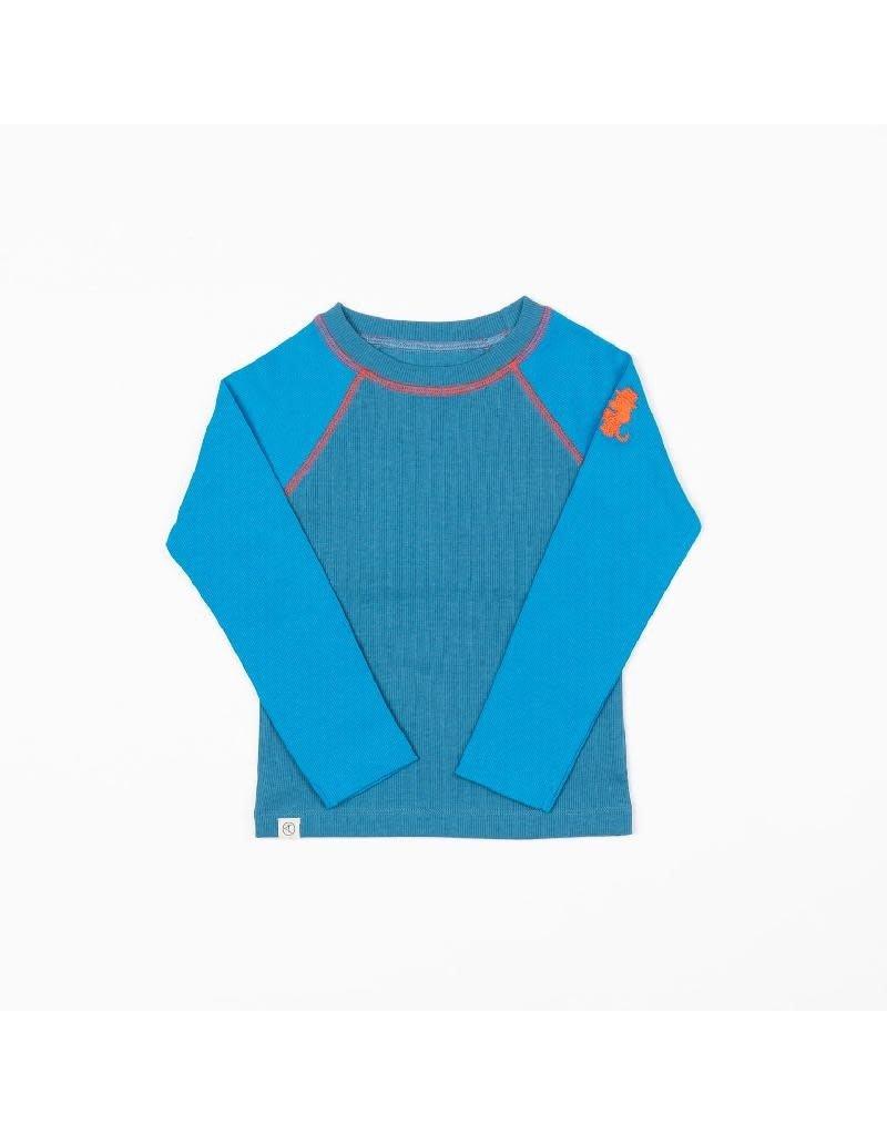 Alba of Denmark Alba of Denmark - Leander blouse, methyl blue
