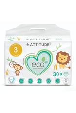 Attitude Attitude - Little Ones eco-wegwerpluier, size 3, 30 stuks, 5-11 kg