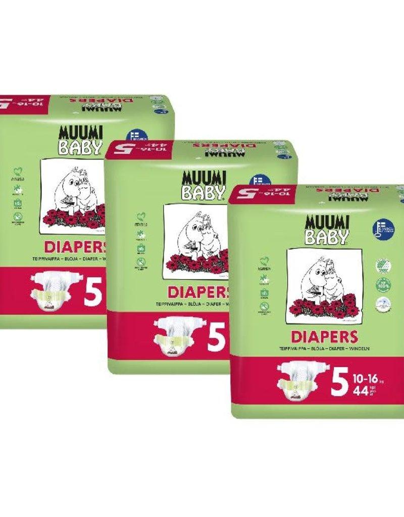 Muumi Muumi - wegwerpluier size 5, 44 st, 10 - 16 kg