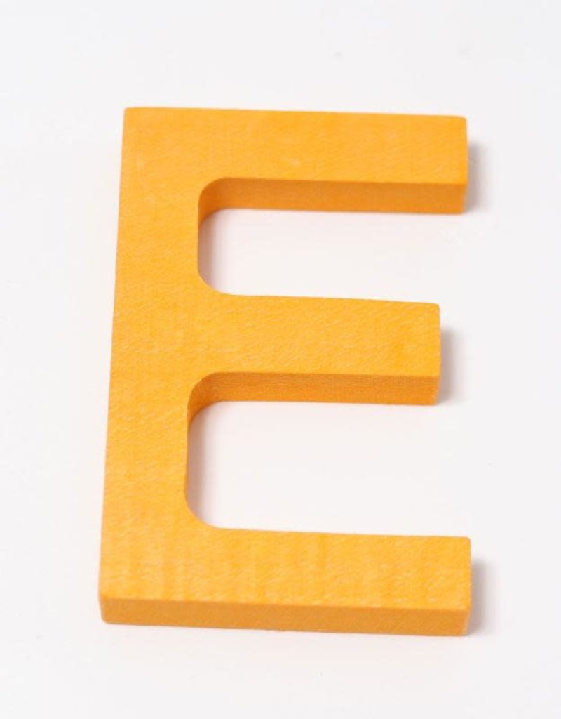 Grimm's Grimm's - letters, drukletter E