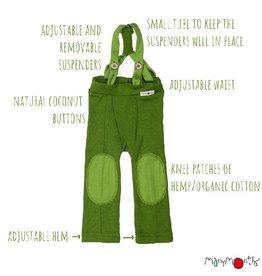 ManyMonths Hazel broek, Garden Moss Green (0-2j)
