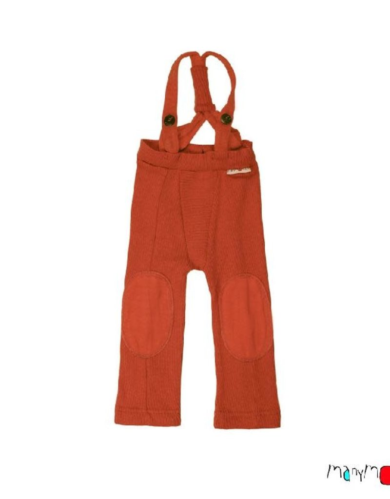 ManyMonths ManyMonths - Hazel Trousers with Suspenders, Rooibos Red (0-2j)