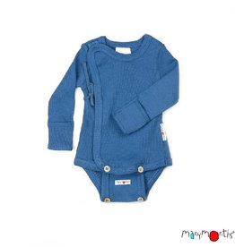 ManyMonths Kimonobody/-shirt, Cosmos Blue (0-2j)