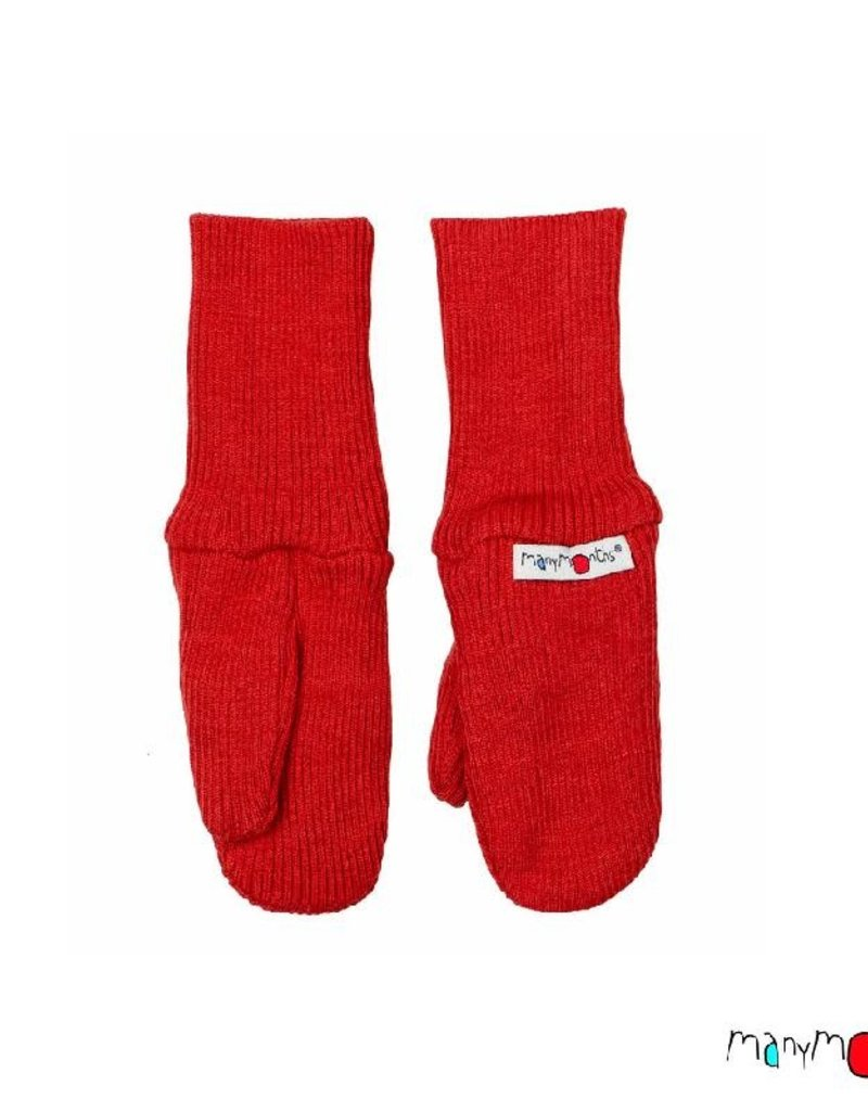 ManyMonths ManyMonths - Long Cuff Mittens, Rooibos Red (3-16j)