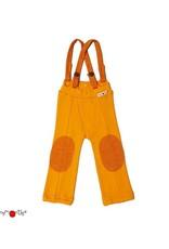 ManyMonths ManyMonths - broek, hazel, wol, festive orange (0-2j)
