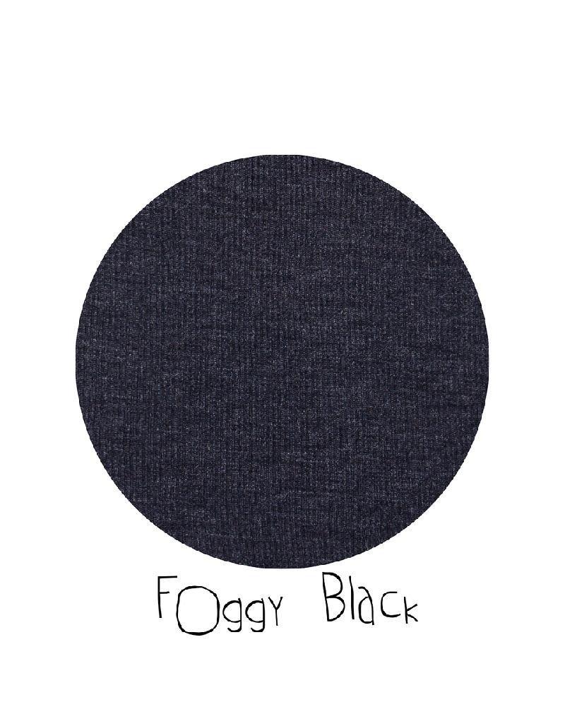 ManyMonths ManyMonths - Hazel Trousers with Suspenders, Foggy Black (0-2j)
