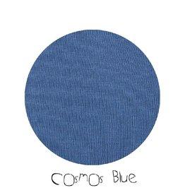 ManyMonths Trui met kap en rits, Cosmos Blue (3-16j)