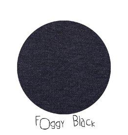 ManyMonths Trui met kap en rits, Foggy Black (3-16j)