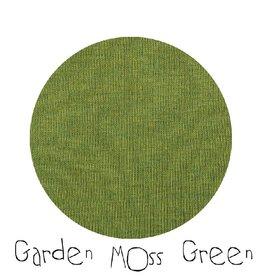 ManyMonths Trui met kap en rits, Garden Moss Green (3-16j)