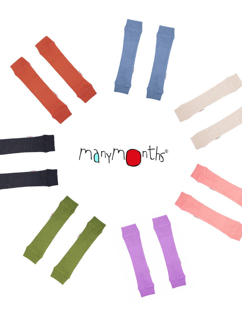 ManyMonths ManyMonths - Tubes for Arms and Legs, Foggy Black