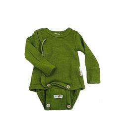 ManyMonths Kimonobody/-shirt, Garden Moss Green (0-2j)