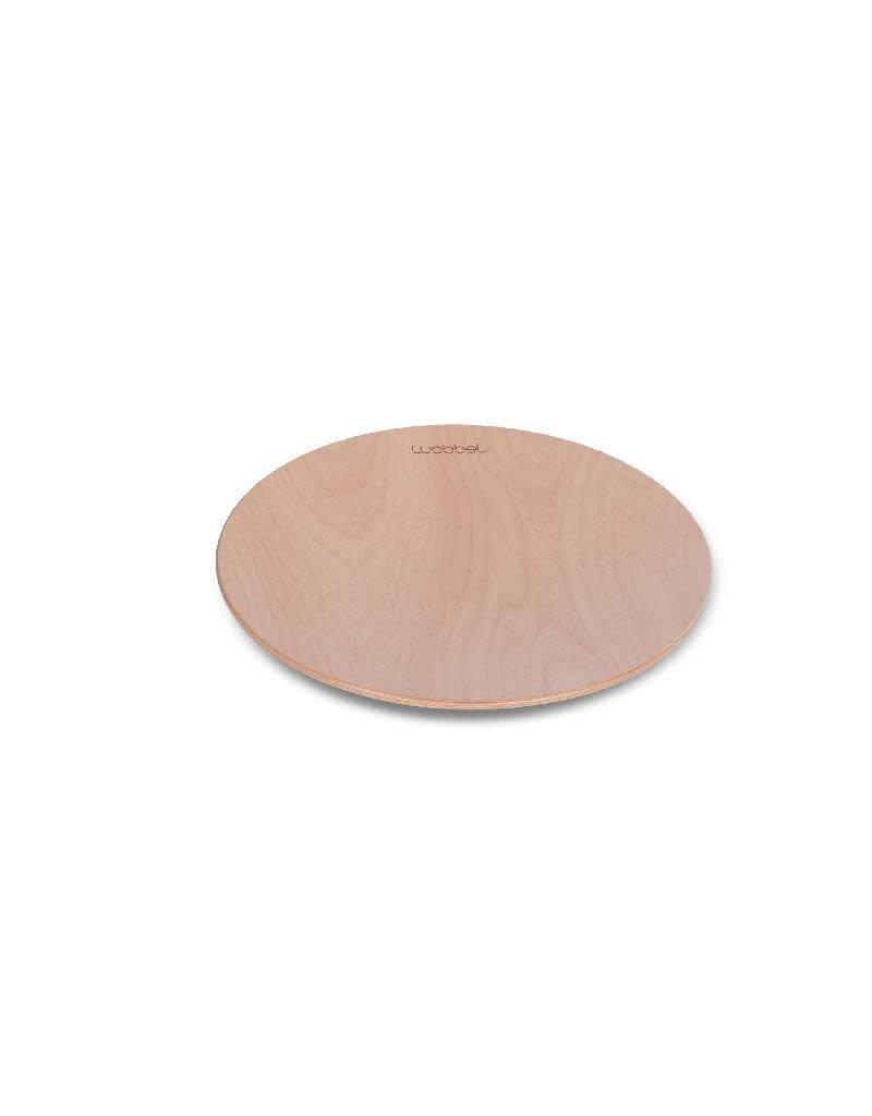 Wobbel Wobbel - 360°, transparant gelakt, zonder vilt