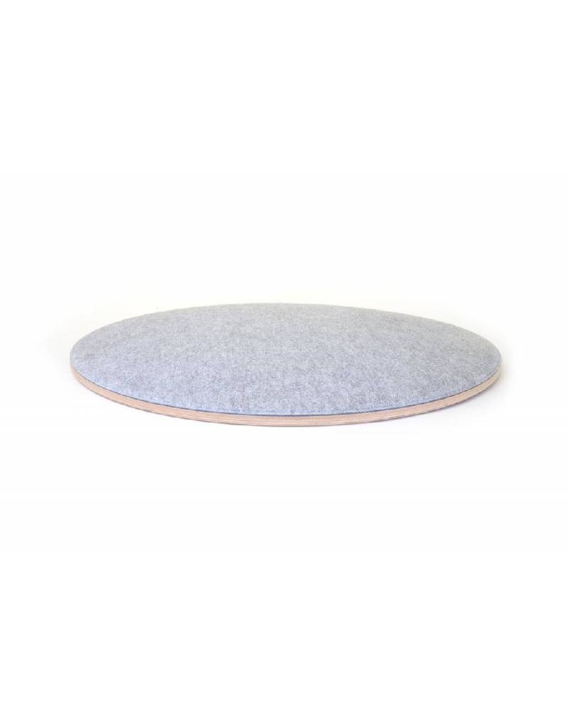 Wobbel Wobbel - 360°, transparant gelakt, vilt babymuis