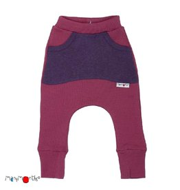 ManyMonths Broek, kangaroo, wol, frosted berry (3-16j)