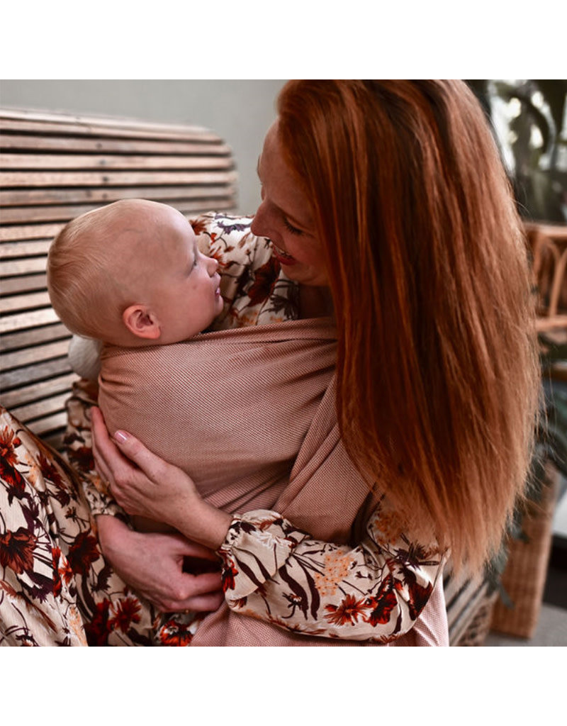 Pure Baby Love Pure Baby Love - ringsling Essentials Organic Rust