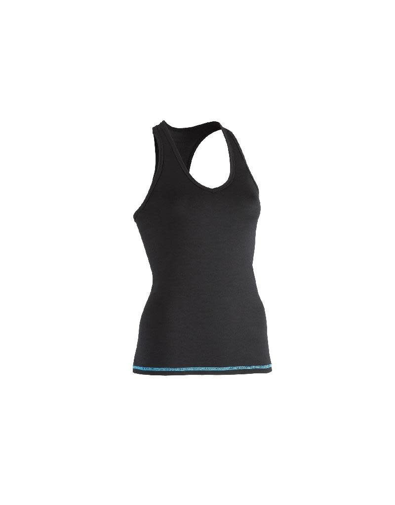 Engel Engel Woman Sports - top, regular fit, wol/zijde, zwart (sky)