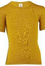 Engel Engel - onderhemd, ss, wol/zijde, saffraan (3-16j)