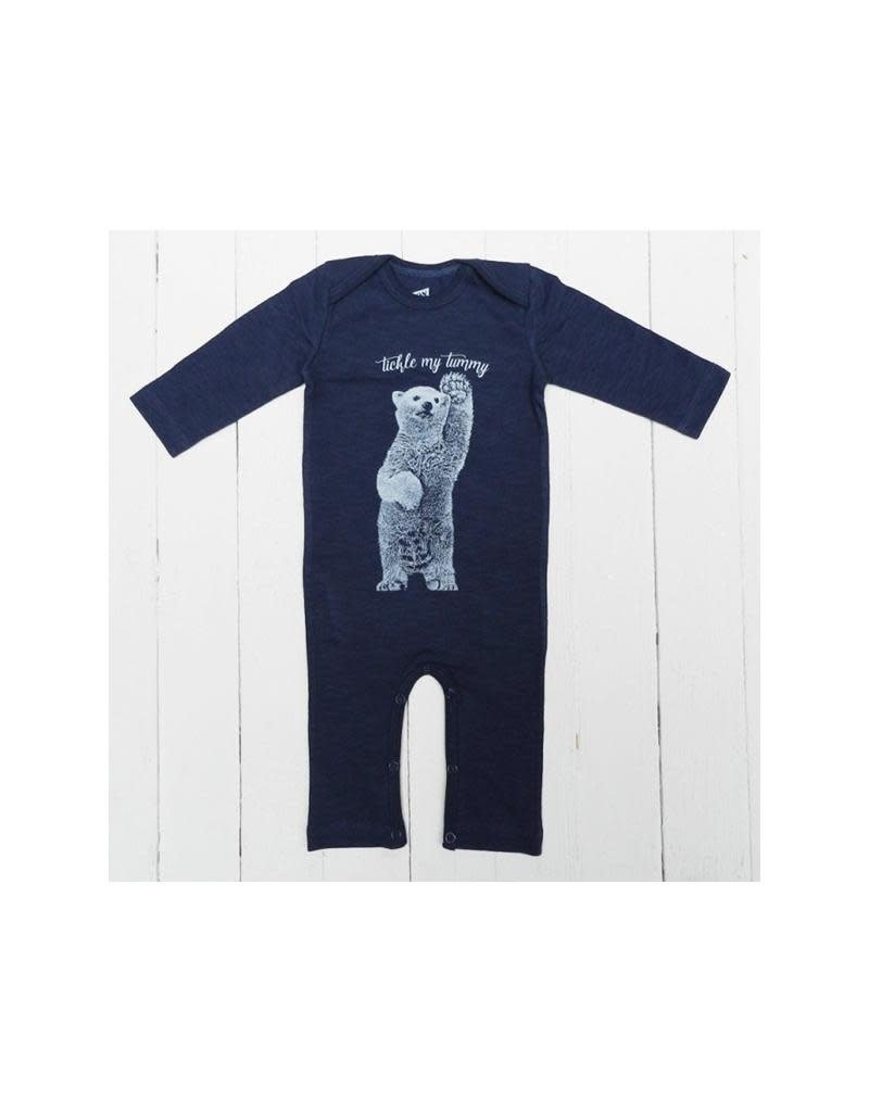 Lion of Leisure Lion of Leisure - jumpsuit, donkerblauw, ijsbeer
