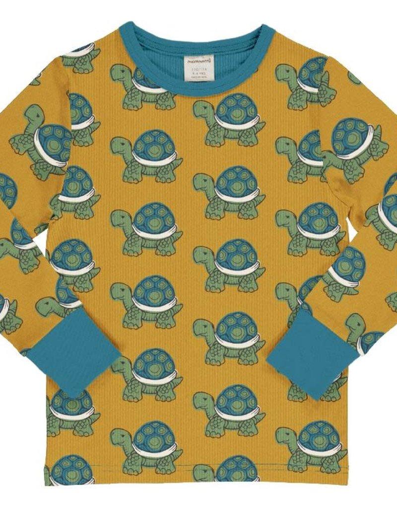 Maxomorra Maxomorra - top ls tortoise (0-2j)