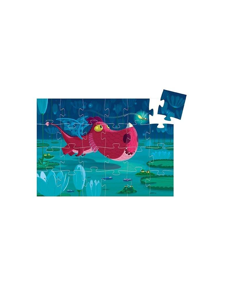 Djeco Djeco - puzzel, Edmond de draak, 24 st
