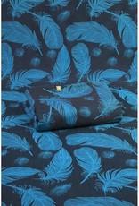 LennyLamb LennyLamb - schoudertas, feathers turquoise and black